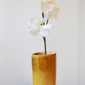 Bamboo Village Uganda handmade and ecofriendly bamboo vase Amuru