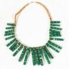 ADJUMANI Bamboo Necklace_green