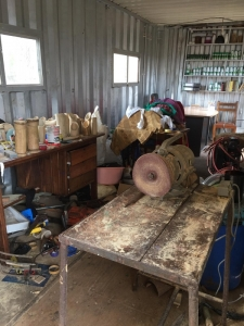 Bamboo Village Uganda - Bamboo turned into products - local craftsmen workplace