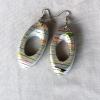 KALIRO Bamboo Earrings grey