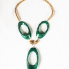 NAKAPIRIPIRIT Bamboo Necklace_green
