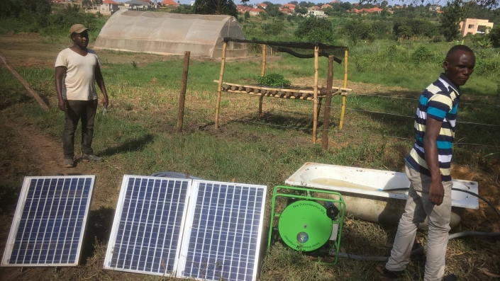 Futurepump - Solar irrigation - Bamboo Village Uganda