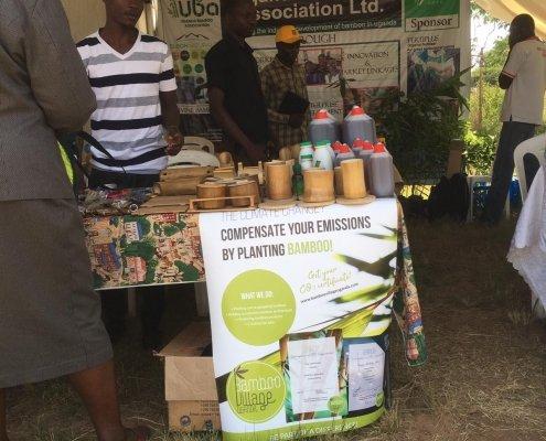 Bamboo Village Uganda at Uganda Water and Environment Week 3