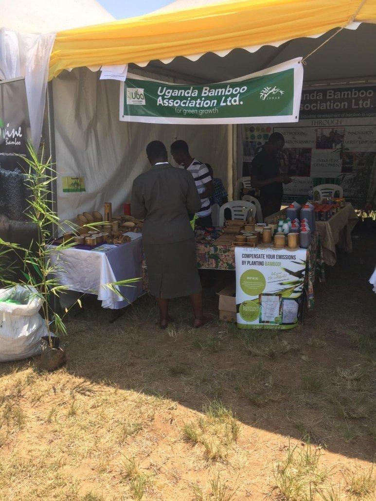 Bamboo Village Uganda at Uganda Water and Environment Week 4